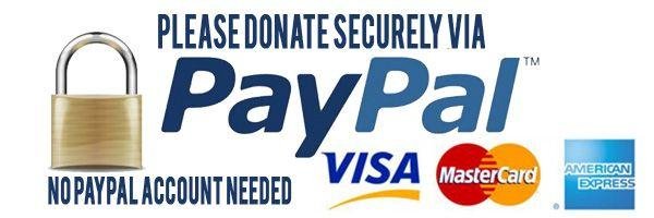 PayPal – The safer, easier way to donate online!